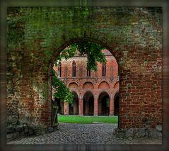 Kloster Chorin (3), Eingang