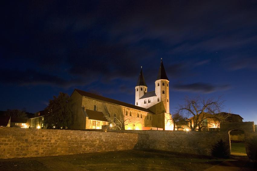 Kloster Drübeck bei Nacht