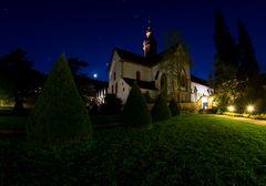 Kloster Eberbach bei Nacht 1