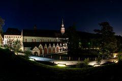 Kloster Eberbach bei Nacht 2