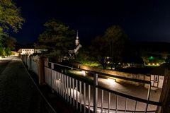 Kloster Eberbach bei Nacht 3