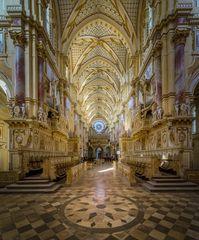 """Kloster Ebrach """"Blick nach Westen"""""""
