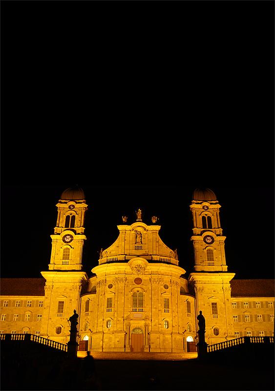 Kloster Einsiedeln im Kanton Schwyz