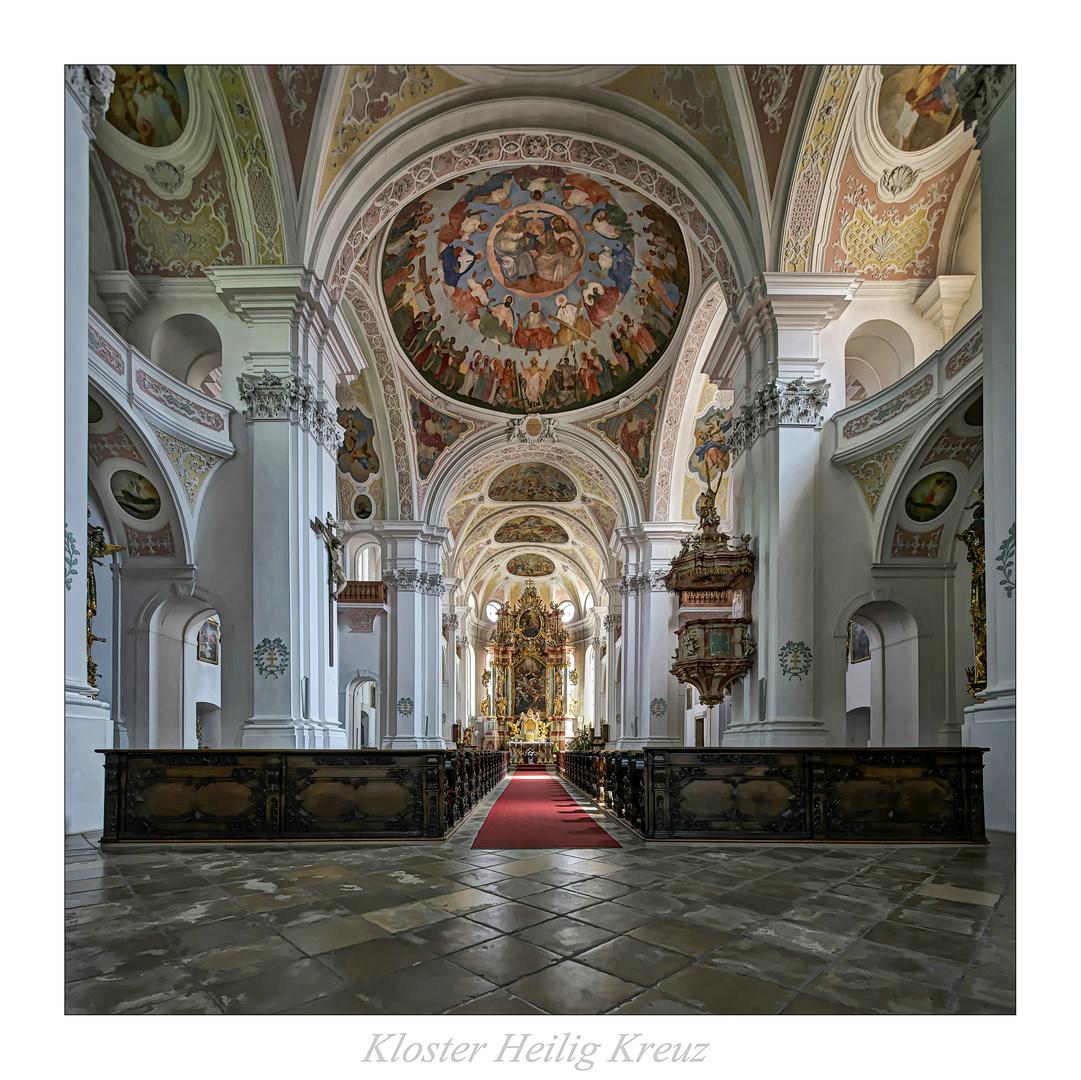"""Kloster Heilig Kreuz (Donauwörth) """" Gott zu Gefallen """""""