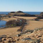 Kloster in Landschaft
