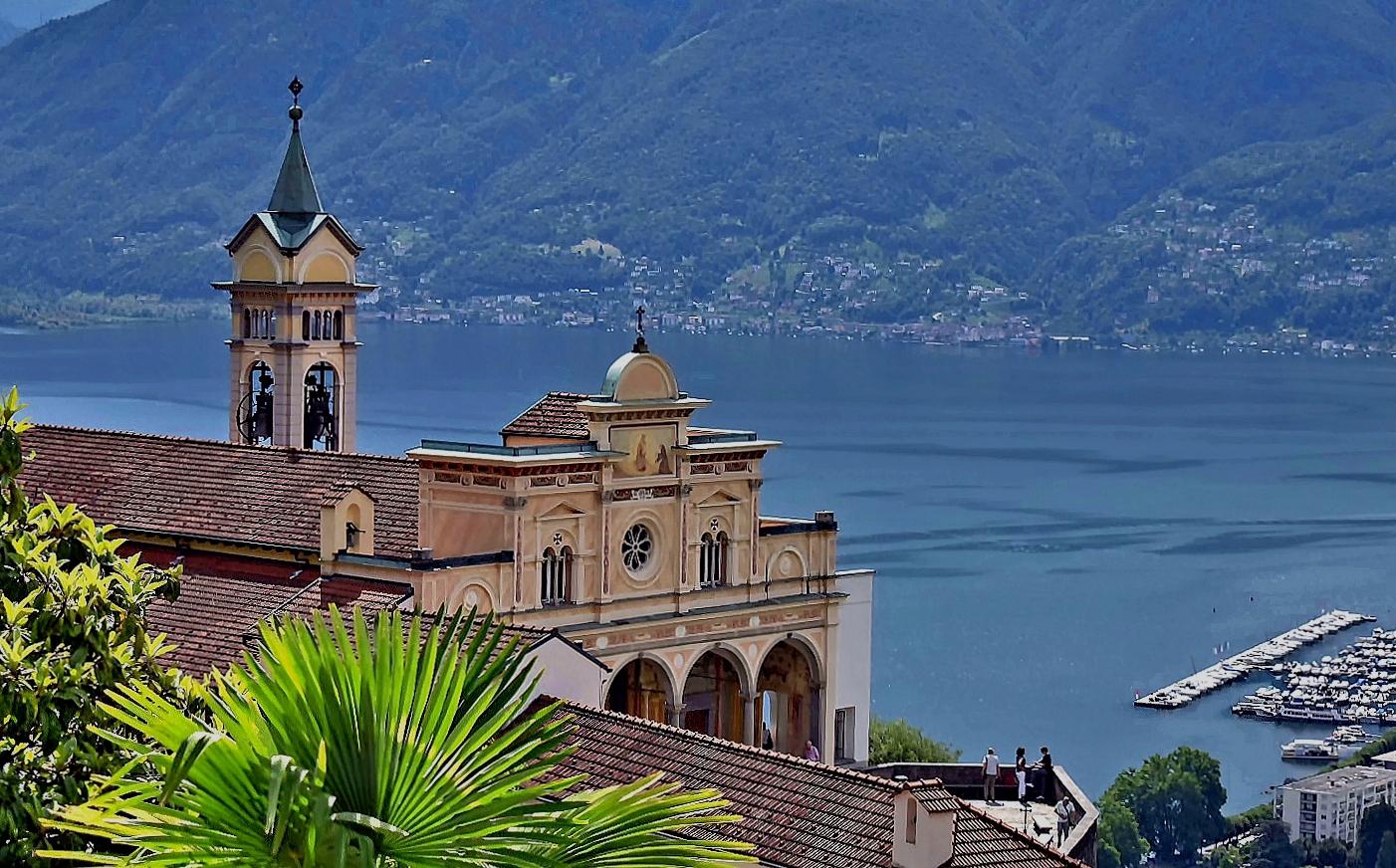 Kloster Madonna del Sasso, Locarno