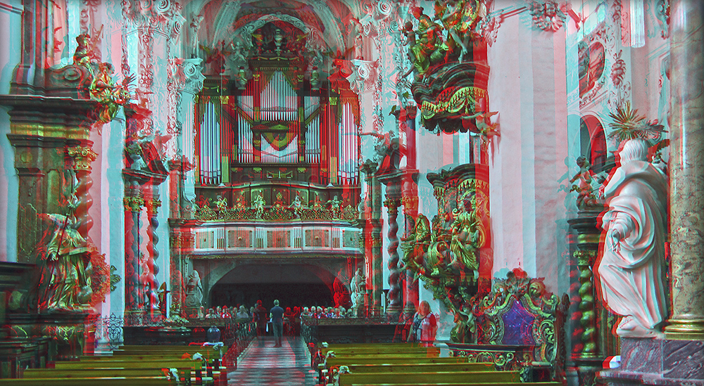 Kloster Neuzellle (3D)