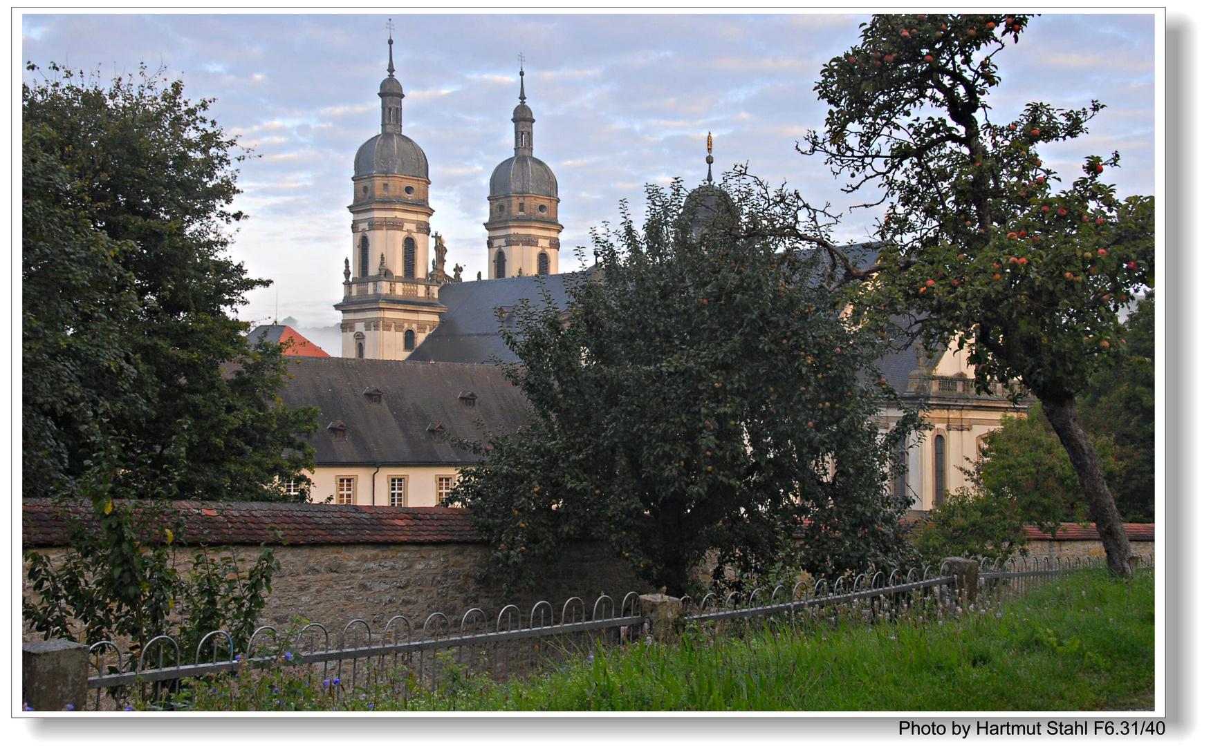 Kloster Schöntal am morgen