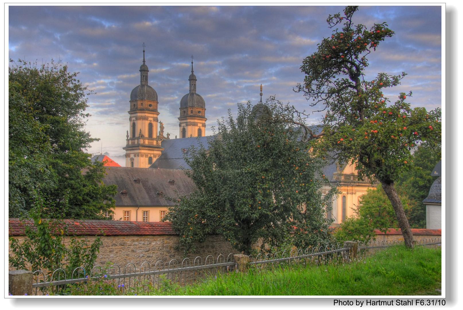 Kloster Schöntal morgens