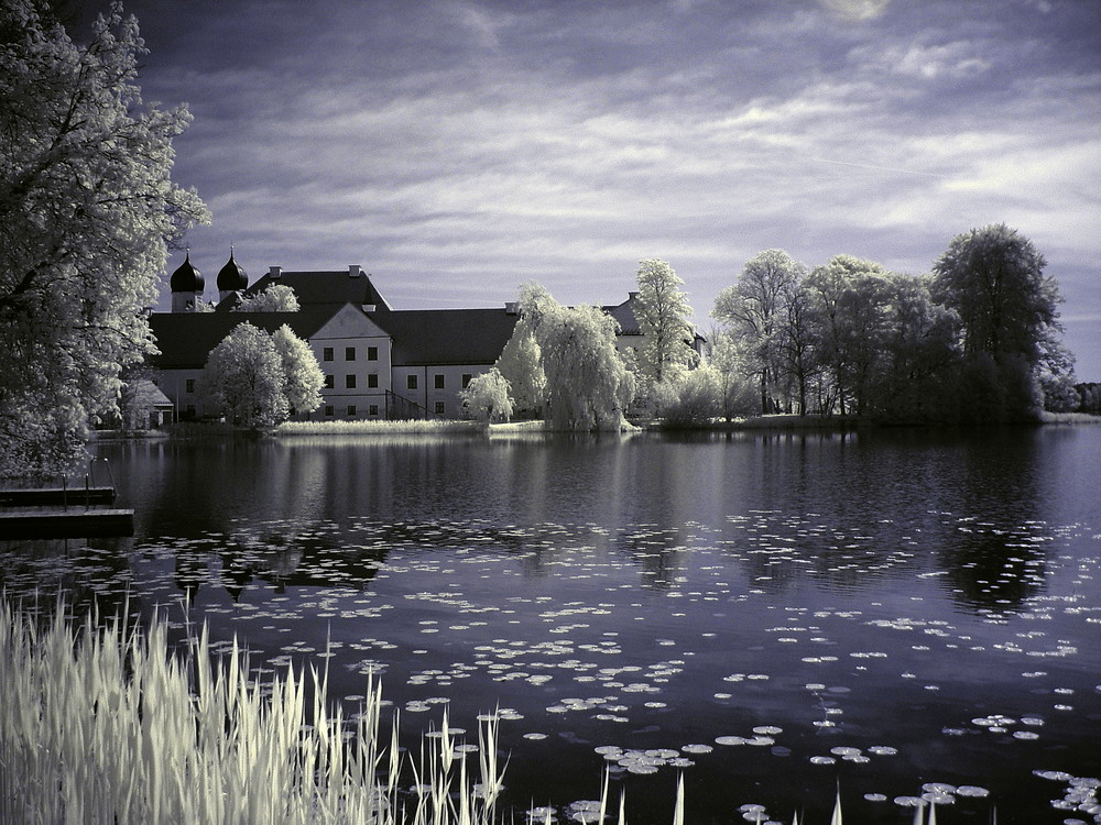 Kloster Seeon (Farb-IR)