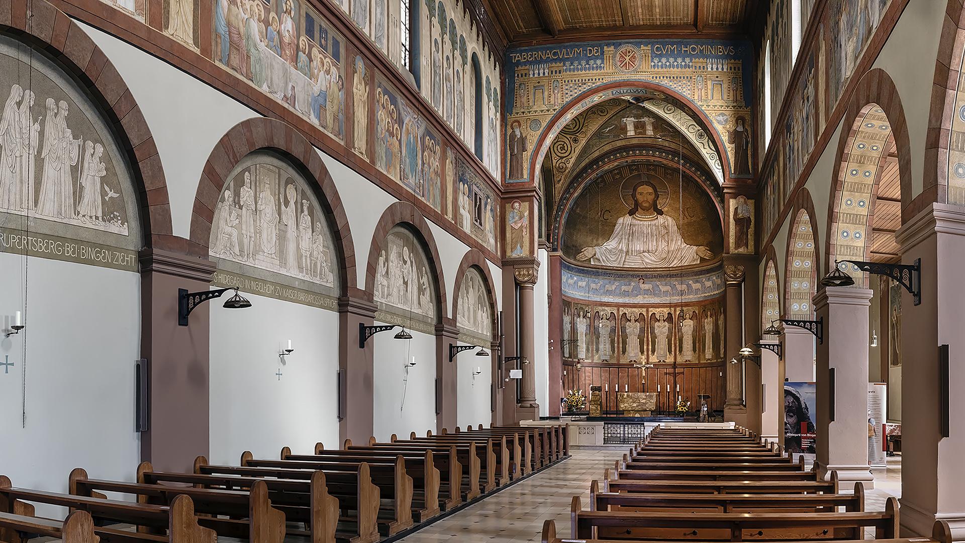 Klosterbasilika SANKT HILDEGARD in Rüdesheim am Rhein