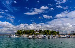 Klosterinsel Galovac, Insel Ugljan, Dalmatien, Kroatien