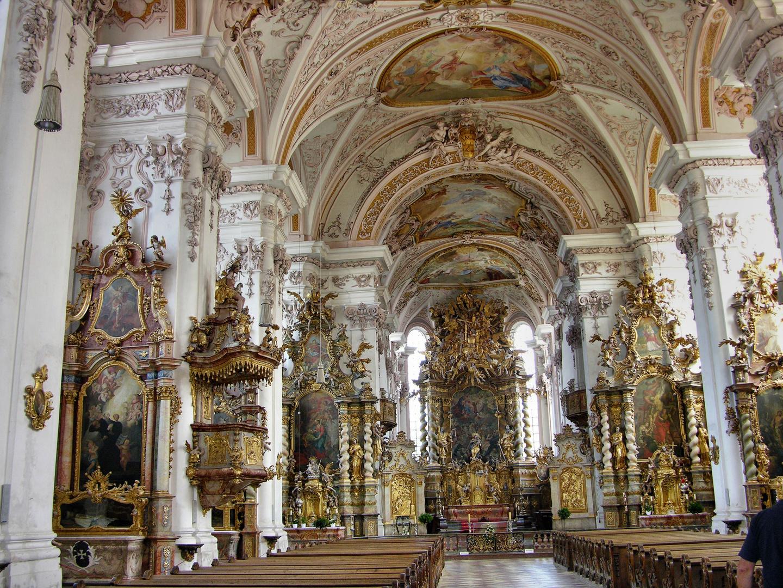 Klosterkirche Aldersbach Altarraum