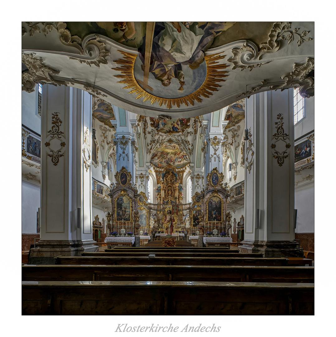 """Klosterkirche Andechs """" Gott zu Gefallen..."""""""