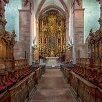 Klosterkirche Bronnbach - Chorraum