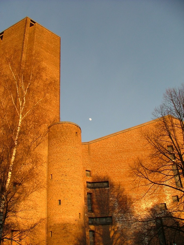 Klosterkirche im Abendlicht