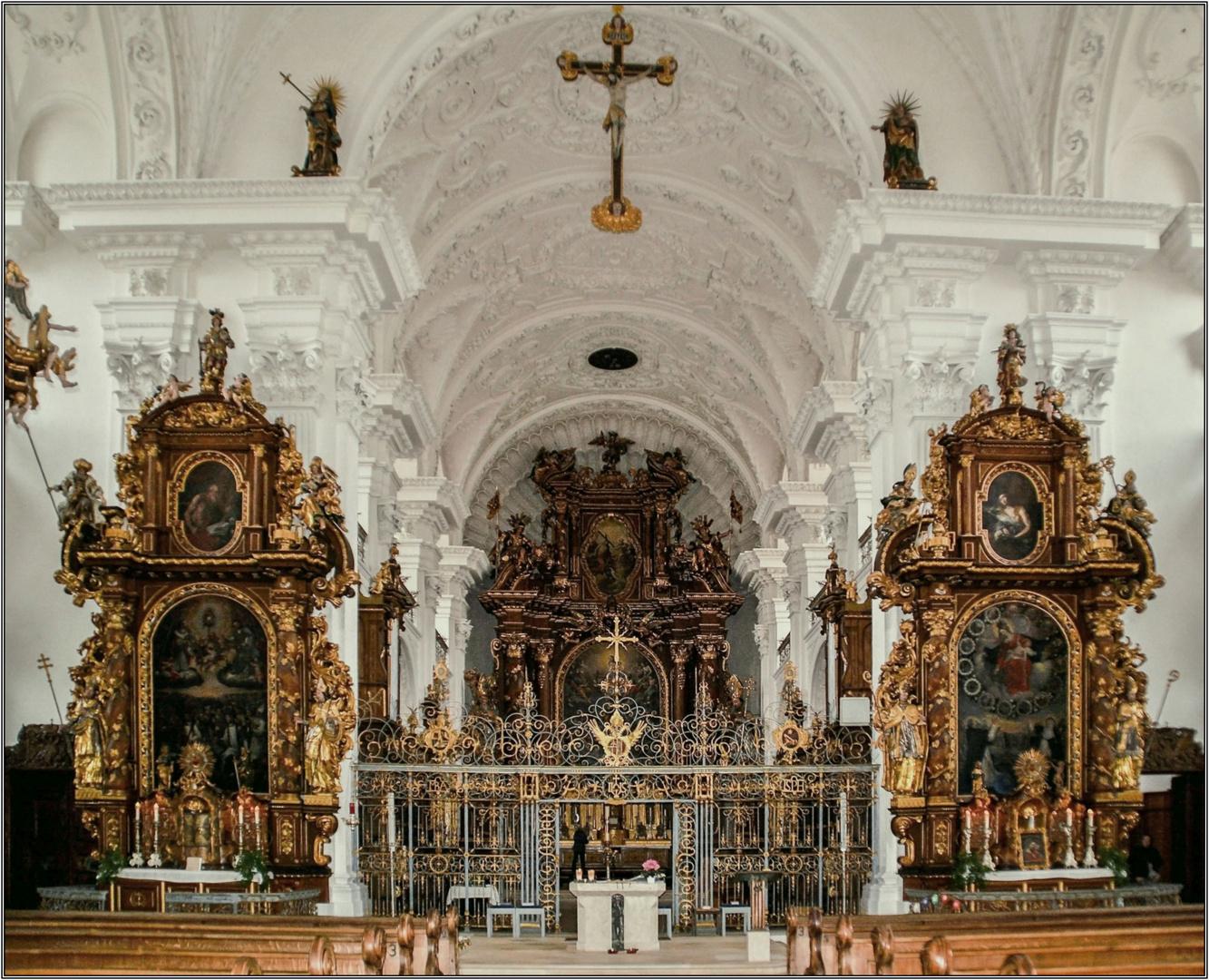 Klosterkirche in Obermarchtal ( Baden-Württtemberg )