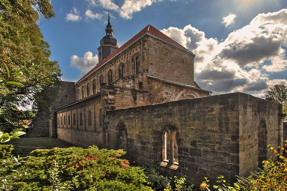 Klosterkirche in Thalbürgel