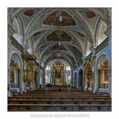 """Klosterkirche Mariä Himmelfahrt - Au am Inn """" Gott zu Gefallen..."""""""