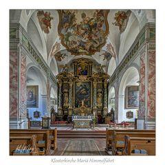 """Klosterkirche Mariä Himmelfahrt _Gars am Inn """" Gott zu Gefallen...."""""""