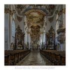 """Klosterkirche Mariä Himmelfahrt (Roggenburg) """" Gott zu Gefallen..."""""""