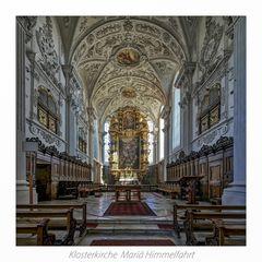 "Klosterkirche Mariä Himmelfahrt - Wettenhausen in Kammeltal "" Gott zu Gefallen ..."""