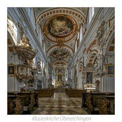 """Klosterkirche Oberelchingen """" Gott zu Gefallen..."""""""