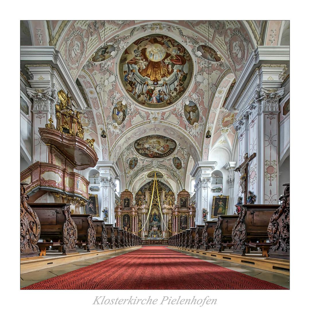 """Klosterkirche Pielenhofen """" Gott zu Gefallen...."""""""
