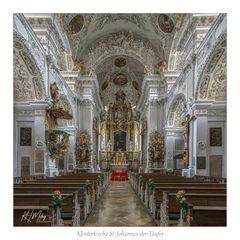 """Klosterkirche St. Johannes der Täufer - Allmannshofen """" Gott zu Gefallen... """""""