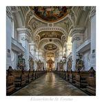 """Klosterkirche St. Verena ( Rot an der Rot ) """" Gott zu gefallen..."""""""