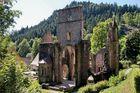 Klosterruine Allerheiligen  im Gegenlicht