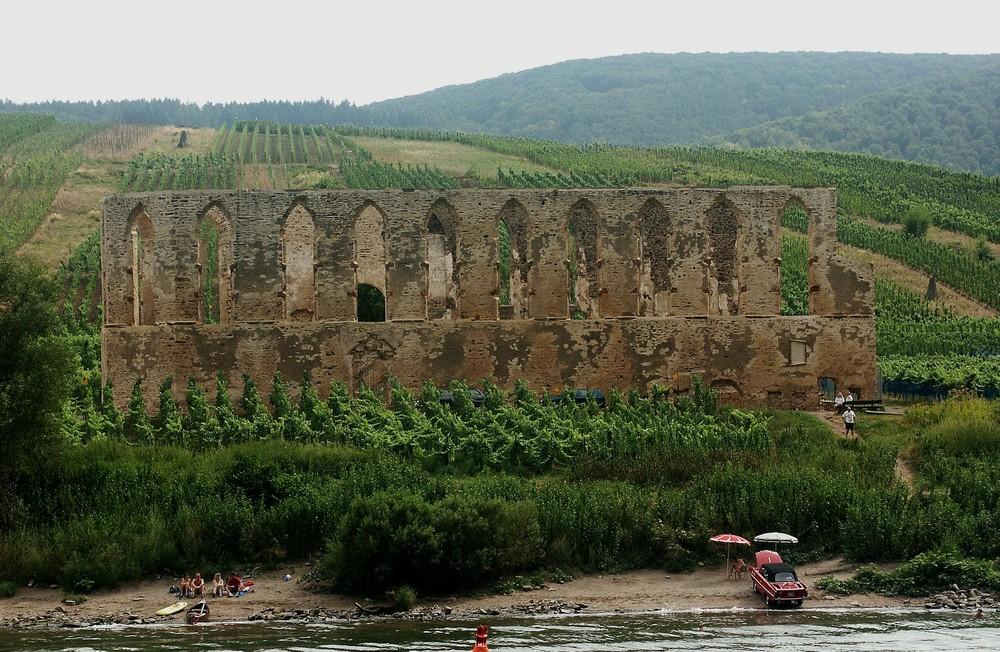 Klosterruine Stuben bei Bremm an der Mosel