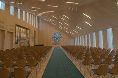 Knarvik_Kirchenzentrum_Innenaufnahme
