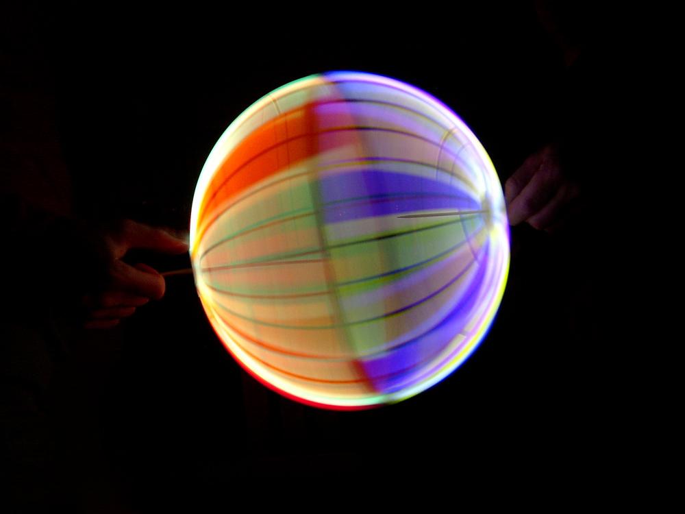 Knicklichtball