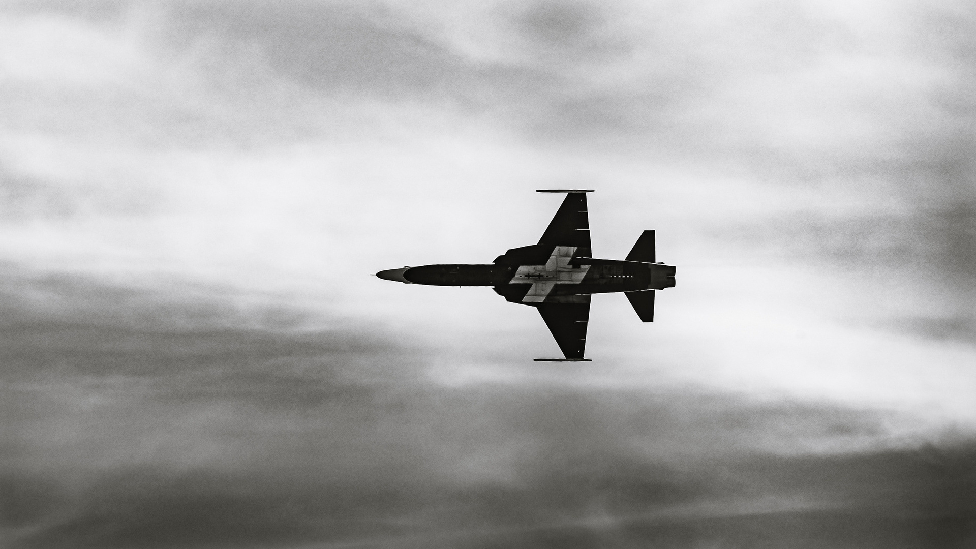 """Knight... in black and white...Patrouille Suisse"""