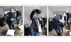 ..... knipsen, knipsen, knipsen (Herr Wolf Maier testet den ergonomischen Griff seiner neuen Camera)