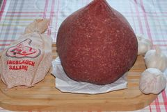Knoblauch-Salami