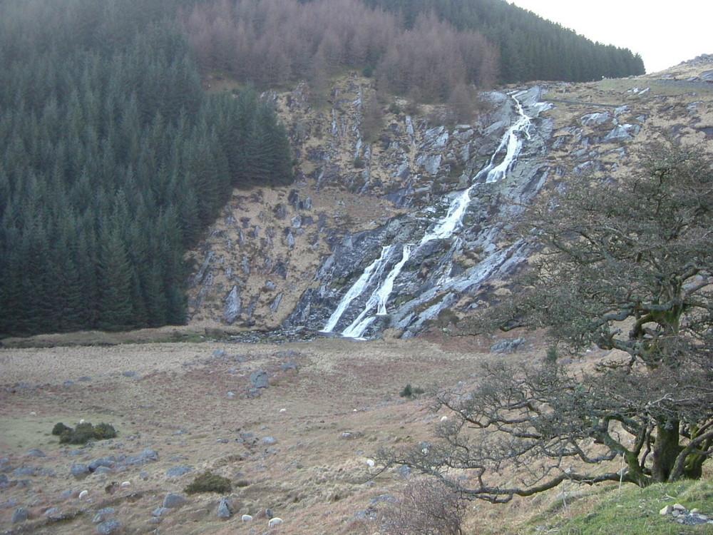 Knocknamass Waterfall