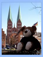 Knuddelgrüße aus Lübeck ...