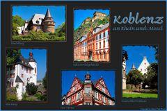 Koblenz an Rhein & Mosel