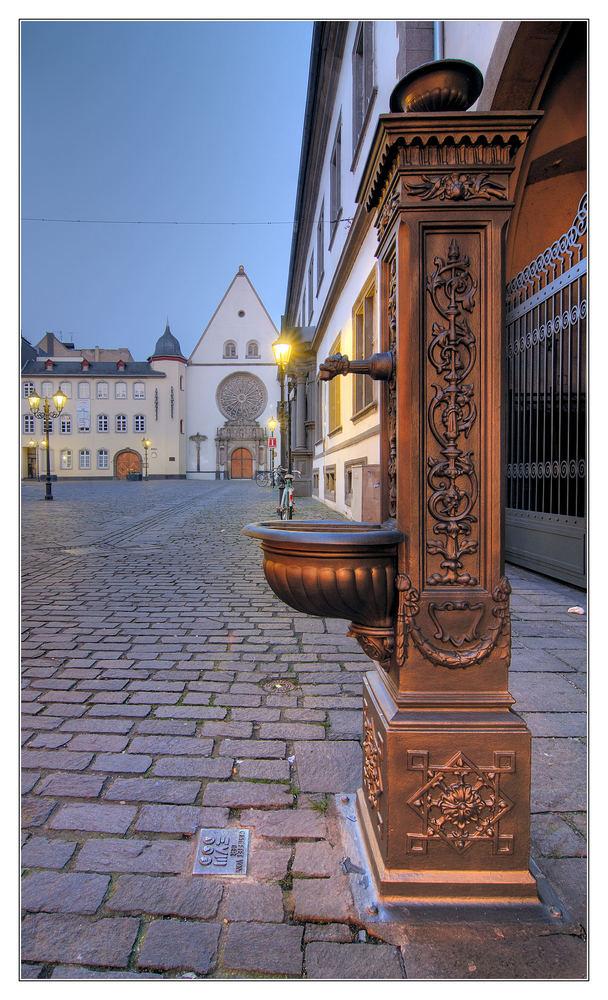 Koblenzer Details-Jesuitengasse
