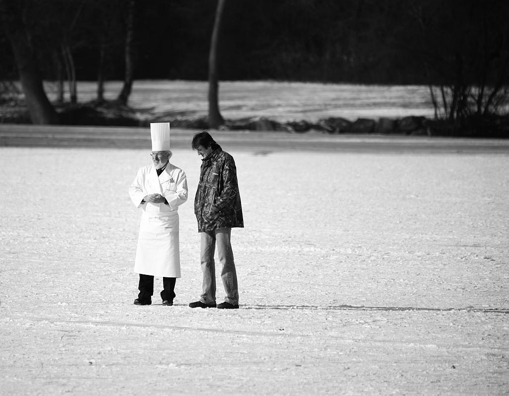 Koch auf Eis