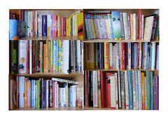 Koch-und Fitness-Bücher. ;)