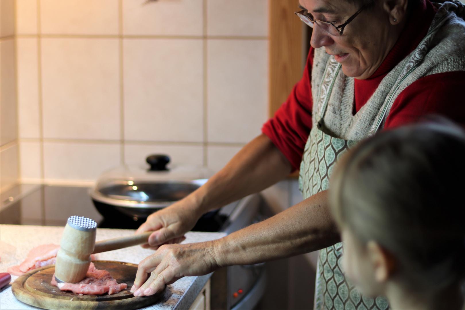 Kochen lernen bei Oma
