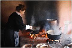.....kochen wie früher in einer Bauernküche
