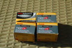 Kodak Professional BW + T 400 CN