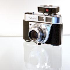 Kodak Retinette 1A mit optischem Naheinstellgerät
