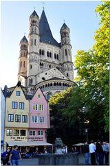 Köln - Altstadt mit St. Martin