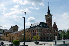 Köln - an den Kranhäusern am Rheinufer