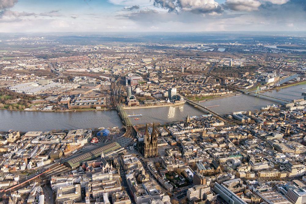 Köln aus der Luft